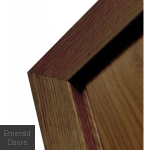 Clearance Walnut Modern Profile Architrave Fully Finished