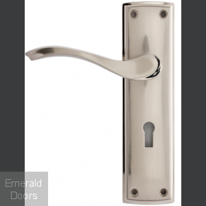 Ardeche Lever On Backplate Lock