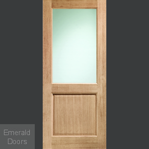 DX with Clear Glass External Door