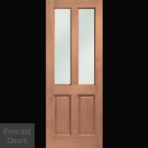 Malton Hardwood with Obscure Glass M&T Double Glazed