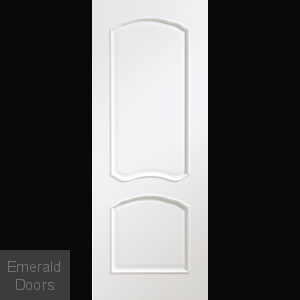 Louis White Fully Finished Fire Door
