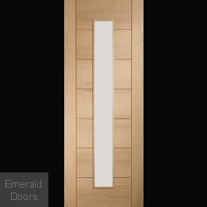 Palermo 1 Light with Clear Glass Unfinished Oak