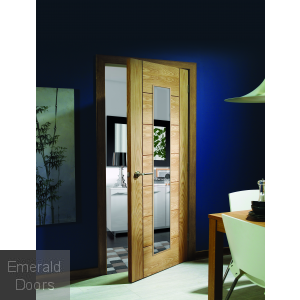 Palermo 1 Light Pre-Finished Oak In Roomset