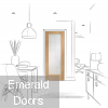 Sliding French Doors with Pattern 10 Clear Glazed Doors