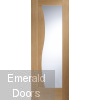 Emilia with Clear Glass Internal Door