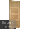 Coventry Internal Oak Door Fully Finished