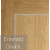 Varese Pre-Finished Oak Door Small Image