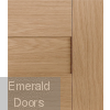 Perugia Oak Internal Fire Door Fully Finished Small
