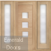 Turin Oak Grand Entrance with Sidelights