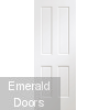Victorian White 4 Panel Door Fully Finished