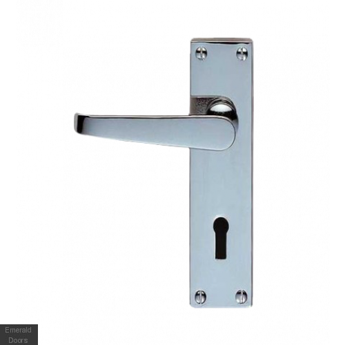 Victorian Suite Lever On Backplate