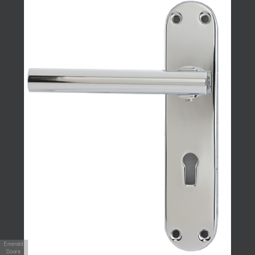 Marne Lever On Backplate Key Lock PC