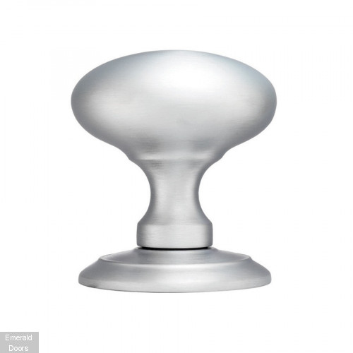 Large rounded mortice knob