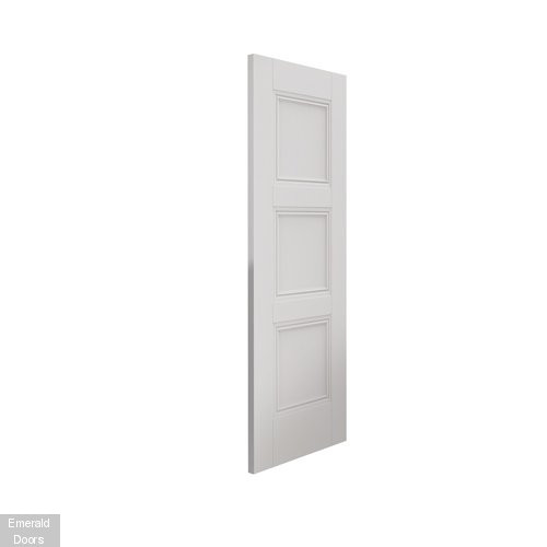 Catton 3 Panel Internal Fire Door with Decorative Mouldings