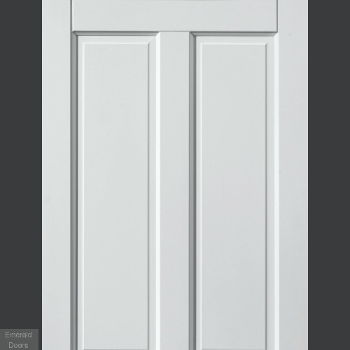 External Colonial 4 Panel White Fully Finished Extreme Door
