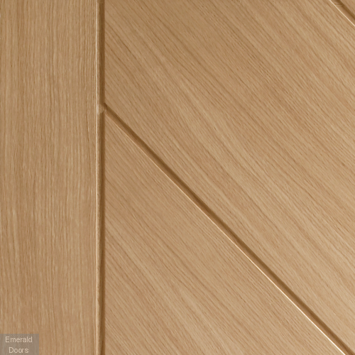 Monza Unfinished Oak In Roomset Image