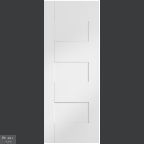 Internal White Pre-Finished Perugia Fire Door