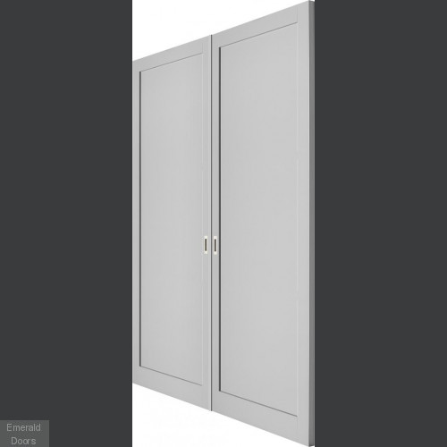 Industrial Style WK1036 Custom Made French Doors